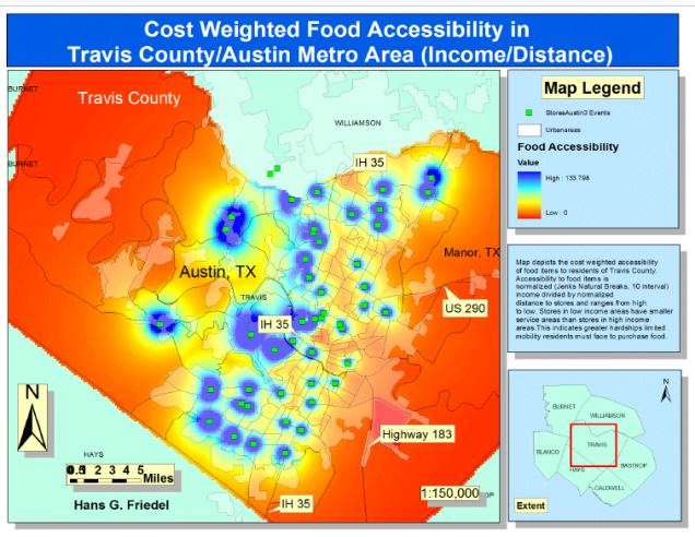 Food Deserts Map